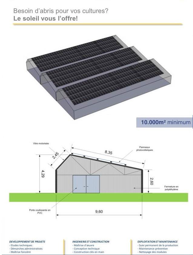 serre solaire photovolta que les nergies renouvelables. Black Bedroom Furniture Sets. Home Design Ideas
