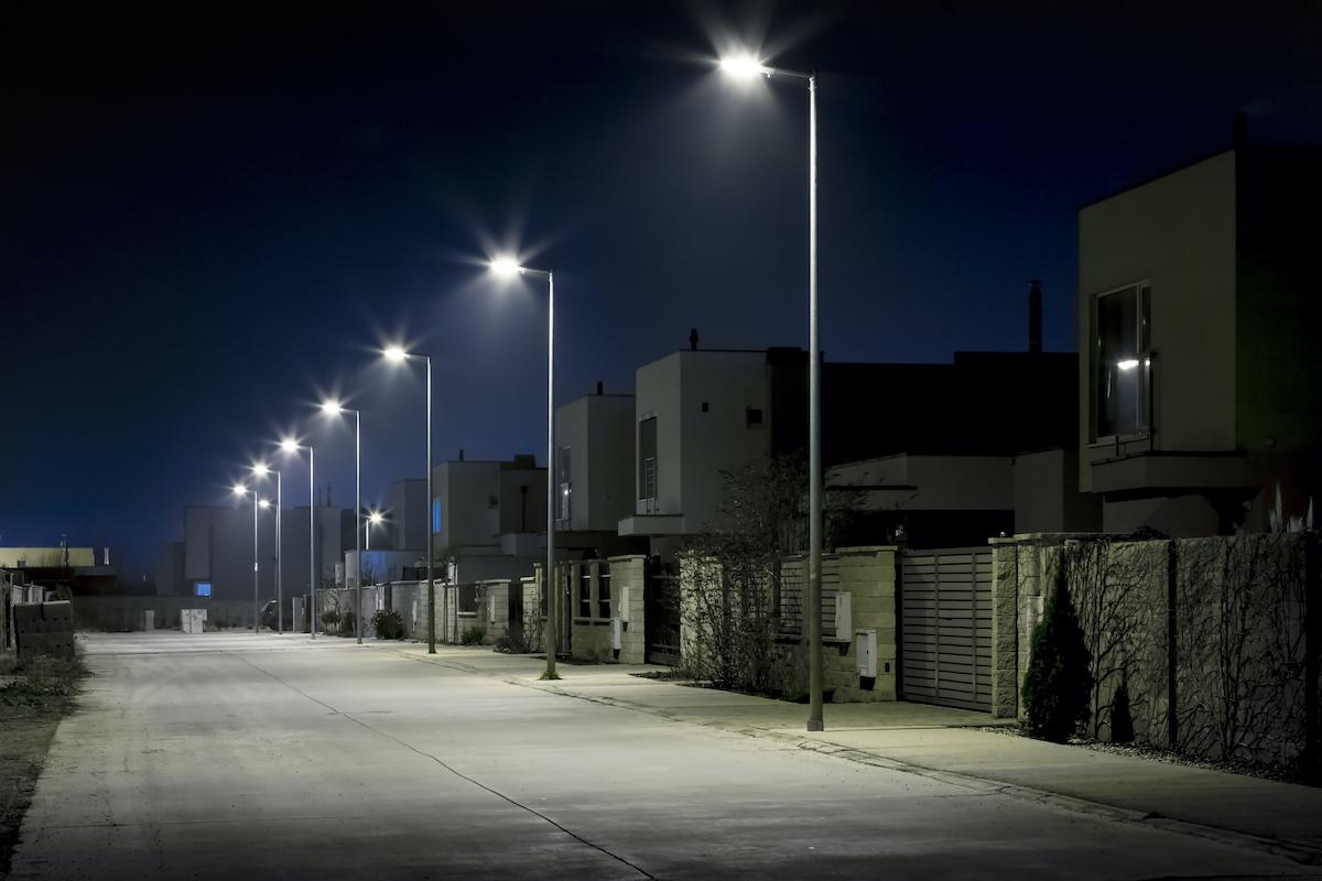 éclairage LED Collectivités