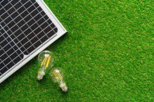 éclairage LED solaire économique, avec panneau solaire et ampoule