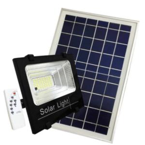 projecteur LED Silamp, avec panneau solaire et détecteur de mouvement